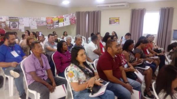 Sinte Regional de Floriano realiza seminário sobre valorização dos servidores.(Imagem:FlorianoNews)