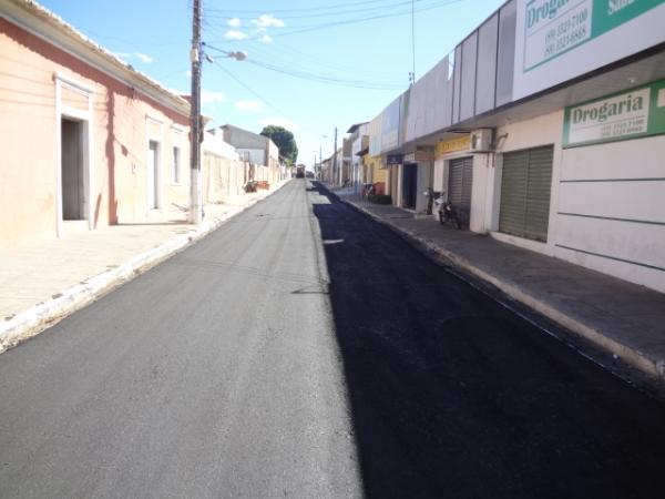 Rua Défala Attem(Imagem:FlorianoNews)