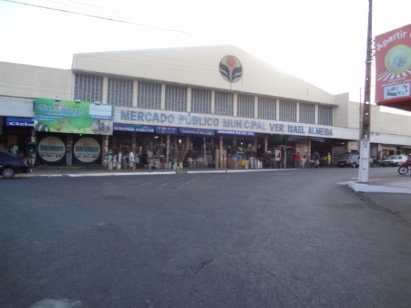 Mercado Público Central de Floriano(Imagem:FlorianoNews)