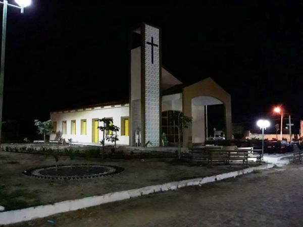 Igreja matriz de São José(Imagem:Reprodução/Facebook)