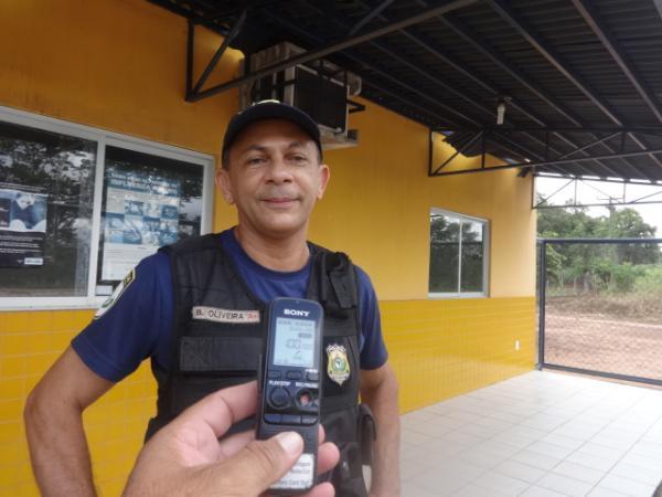 Inspetor B. Oliveira(Imagem:FlorianoNews)