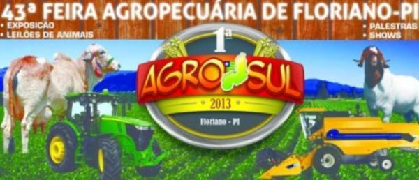 Parque de Exposições recebeu os primeiros animais para 43ª Feira Agropecuária de Floriano.(Imagem:Divulgação)