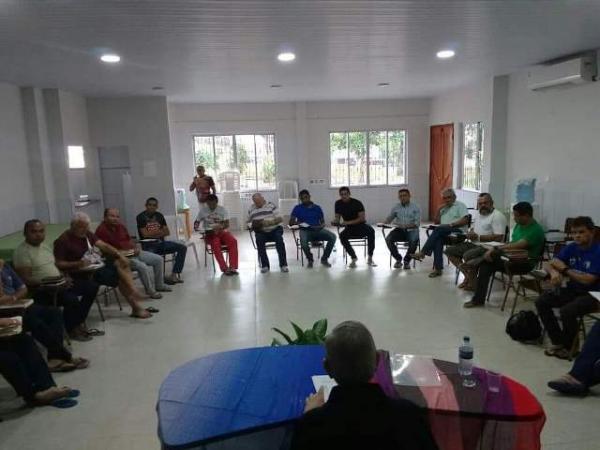 Clero da Diocese de Floriano participa de Retiro em São Luís.(Imagem:Ascom)