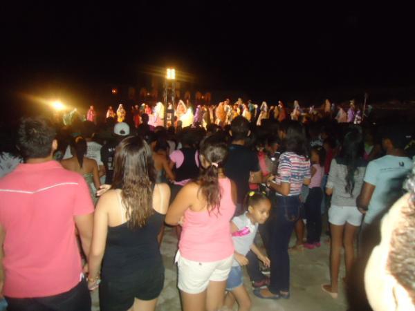 18ª edição do espetáculo da Paixão de Cristo de Floriano emociona multidão.(Imagem:FlorianoNews)