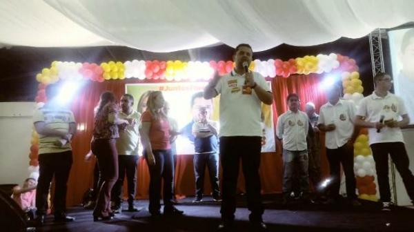 Rejane Dias e Janaínna Marques lançam candidatura em Floriano. (Imagem:FlorianoNews)