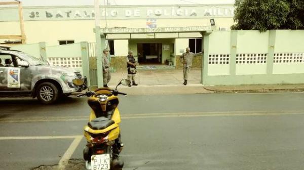 Batalhão da PM de Floriano(Imagem:FlorianoNews)