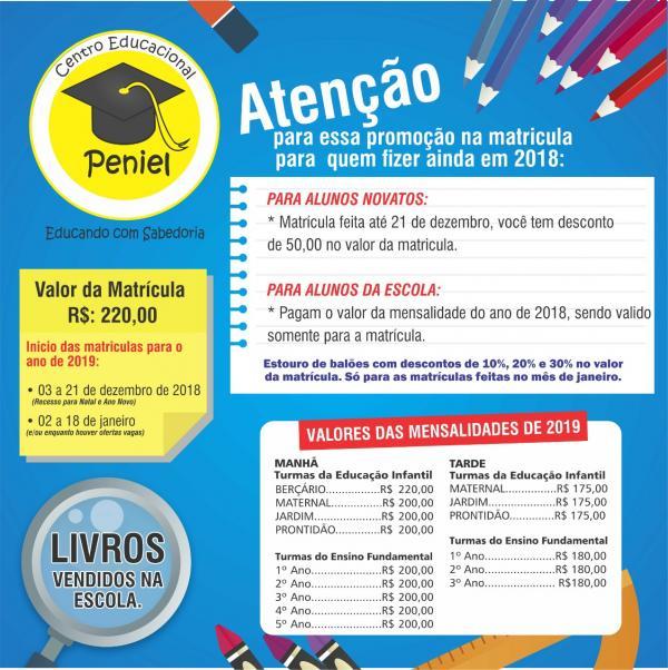 Centro Educacional Peniel(Imagem:CEP)