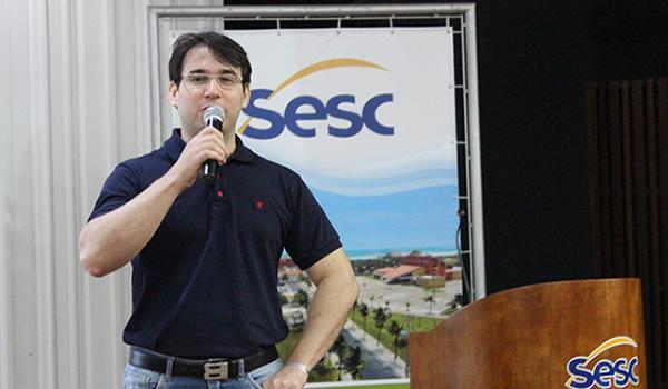Roberto Nunes, coordenador de Recursos Especiais do Sesc Piauí.(Imagem:Sesc)