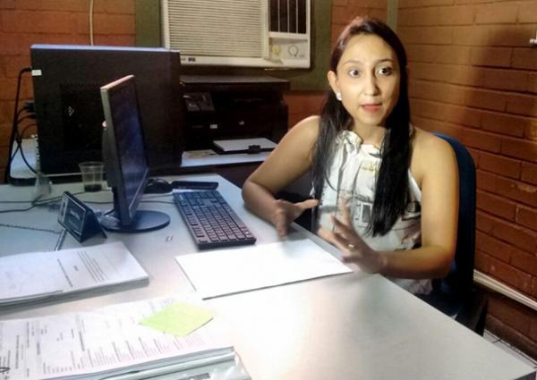 Delegada Luana Alves(Imagem:Carlienne Carpaso)
