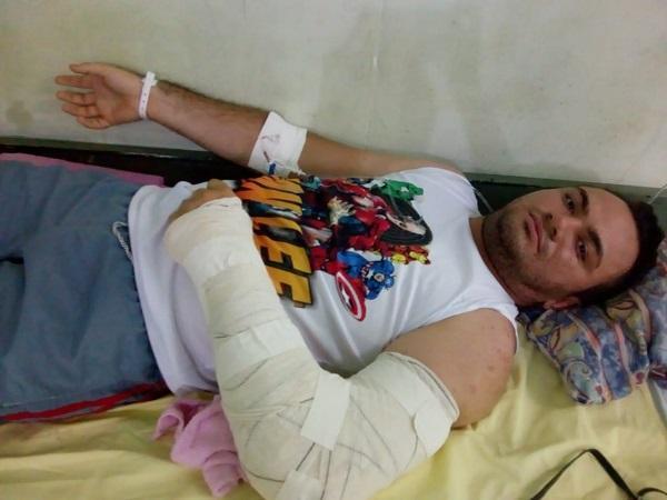 Educador é vítima de acidente de trânsito na zona rural de Floriano.(Imagem:Divulgação/Whats App)