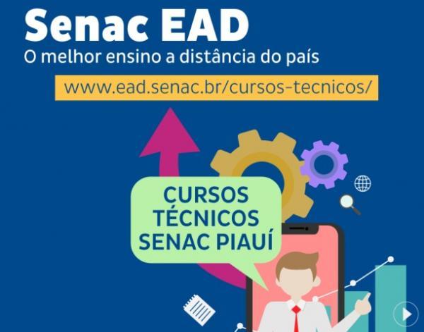 Inscrições para cursos à distância do Senac encerram no dia 16.(Imagem:Divulgação)