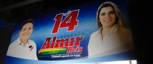 Almir Reis e Karytha Freire(Imagem:FlorianoNews)