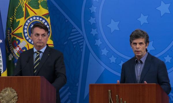 Jair Bolsonaro e Teich(Imagem:Reprodução)