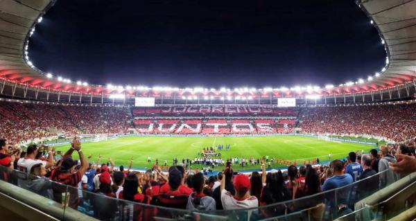 Torcida rubro-negra lotará novamente o Maracanã para confronto com o Santos.(Imagem:Divulgação / Flamengo)