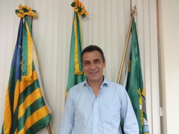 Prefeito Gilberto Júnior(Imagem:FlorianoNews)