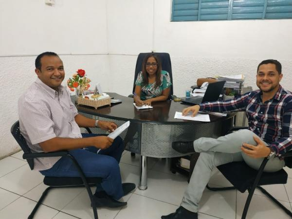 Ancelmo Jorge, Josélia Rodrigues e Júlio César.(Imagem:Secom)
