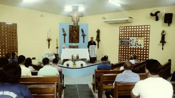 Festejo de São Pio de Pietrelcina é iniciado no bairro Nossa Senhora da Guia.(Imagem:FlorianoNews)
