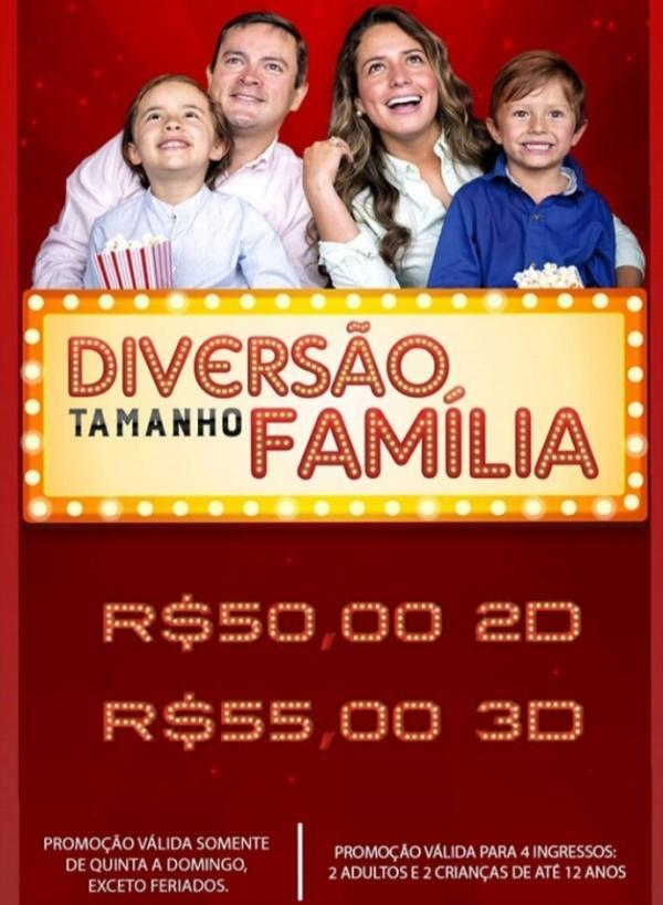 Diversão Tamanho Família(Imagem:Divulgação)