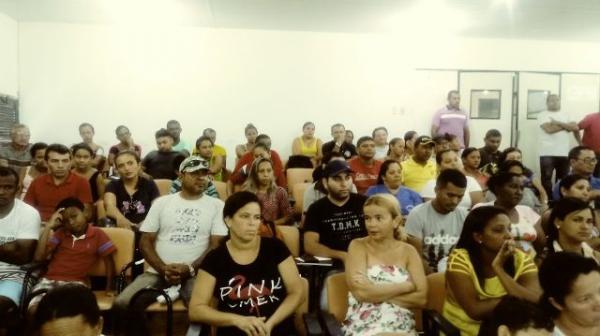 Pais e responsáveis participam de capacitação do Pelotão Mirim em Floriano.(Imagem:FlorianoNews)