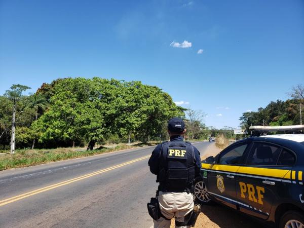 Polícia Rodoviária Federal realizou operação durante o período de férias.(Imagem:Divulgação/PRF)