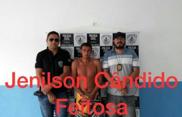 Jenilson Cândido Feitosa(Imagem:Divulgação/Polícia Civil)