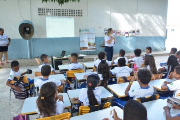 SEMAN realiza atividades de Educação Ambiental em escola da rede municipal de Floriano.(Imagem:SECOM)