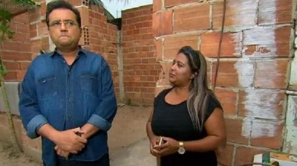 Geraldo Luís e Cida (Imagem: Reprodução/Record TV)