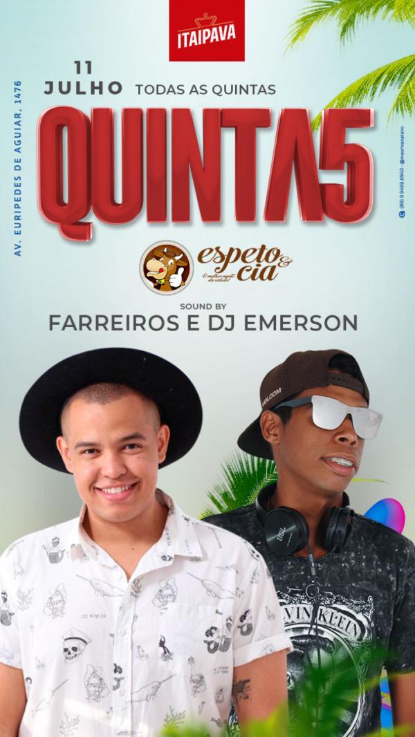 Farreiros e DJ Emerson(Imagem:Divulgação)