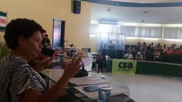 Em Floriano, Senadora Regina Sousa realiza debate sobre Reforma da Previdência.(Imagem:COM)