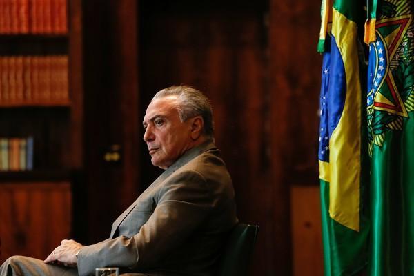 O presidente Michel Temer será investigado com autorização do Supremo.(Imagem:Marcos Corrêa)