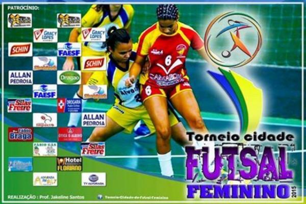 Floriano realiza 3º Torneio Cidade de Futsal Feminino.(Imagem:Divulgação)