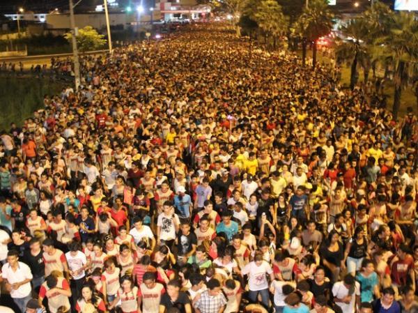 Marcha para Jesus pretende reunir 250 pessoas em Teresina.(Imagem:Ellyo Teixeira/G1)