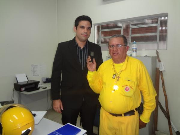Delegado Maycon Braga é transferido de Floriano.(Imagem:FlorianoNews)
