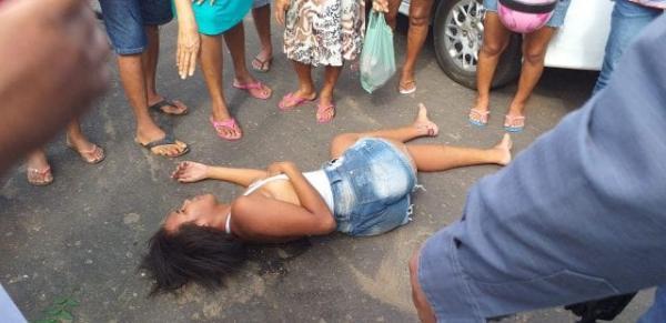 Mulher fica ferida em acidente em Barão de Grajaú.(Imagem:Divulgação)