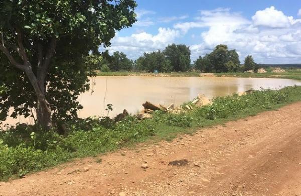 Agência Nacional descobre via satélite nova barragem no Piauí e pede fiscalização.(Imagem:SEMAR)