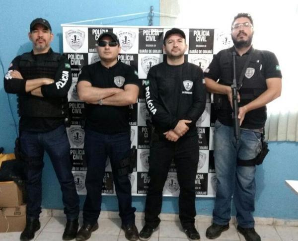 Segunda fase da Operação Draga é deflagra pela Polícia Civil de Barão de Grajaú.(Imagem:Divulgação/Polícia Civil)