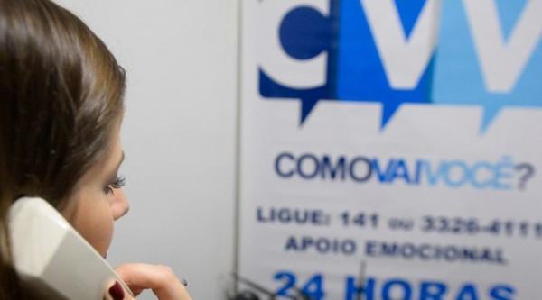 Centro de Valorização da Vida.(Imagem:Divulgação/CVV)