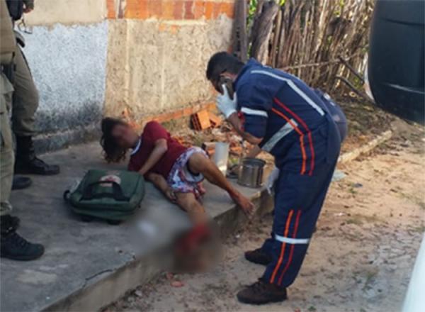Homem cai em túmulo ao fugir da polícia e fratura o pé.(Imagem:PM de Cocal)
