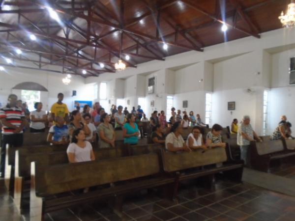 Alvorada e café comunitário marcam abertura do festejo de São José Operário em Floriano. (Imagem:FlorianoNews)