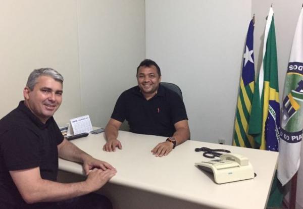 Mauricio Bezerra (PP) e Gilvan Oliveira(Imagem:Assessoria)