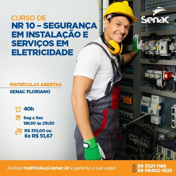 NR 10 - Segurança em Instalação e Serviços em Eletricidade(Imagem:Divulgação)