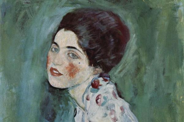 Retrato pintado por Gustav Klimt foi encontrado nas paredes de uma galeria de arte, na Itália, após ter sido roubado em 1997(Imagem:Reprodução/artsy)