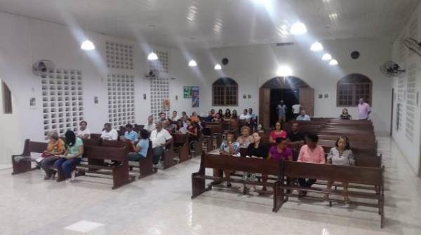 Alvorada marca abertura do Festejo de São Sebastião no Conjunto Pedro Simplício.(Imagem:FlorianoNews)
