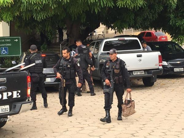 Polícia cumpre mandados no Piauí, Maranhão e São Paulo pela Operação Codinomes(Imagem:Murilo Lucena/TV Clube)
