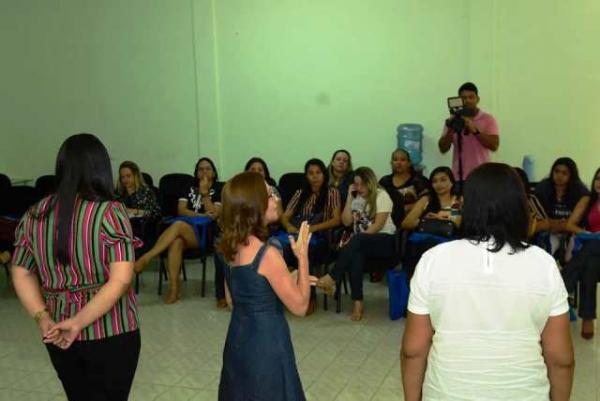 Saúde promove curso da Estratégia Amamenta e Alimenta Brasil em Floriano.(Imagem:SECOM)