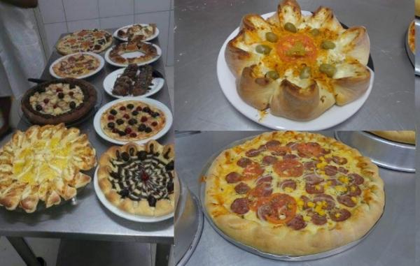 Senac de Floriano promove oficina de pizza.(Imagem:Divulgação)