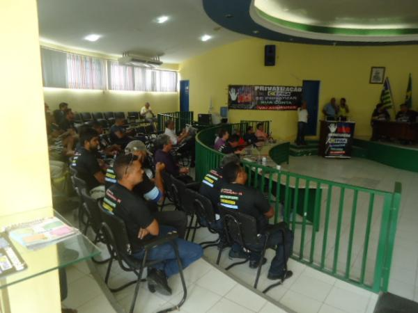 Audiência pública discute privatização da Chesf e da Cepisa em Floriano.(Imagem:FlorianoNews)