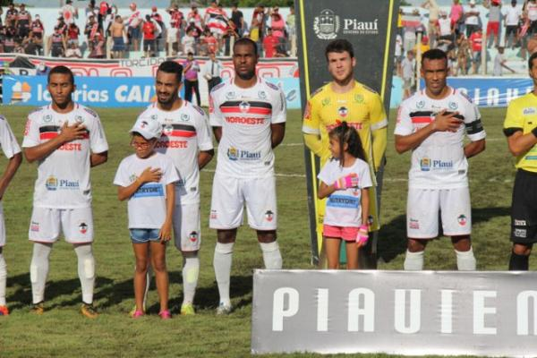 River tenta virar a página e foca vaga na Copa do Nordeste 2019.(Imagem:Victor Costa/River A.C.)