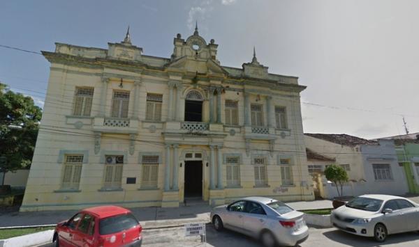 Prefeitura de Goiana, em Pernambuco.(Imagem:Reprodução/Google Street View)