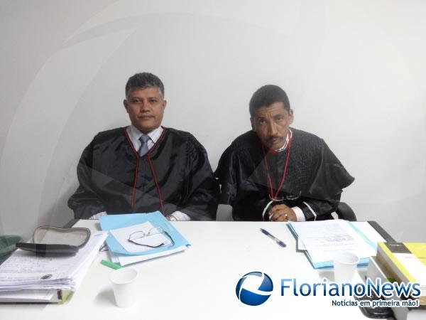 Promotores de Justiça: Carlos Washington e José de Arimatéia.(Imagem:FlorianoNews)